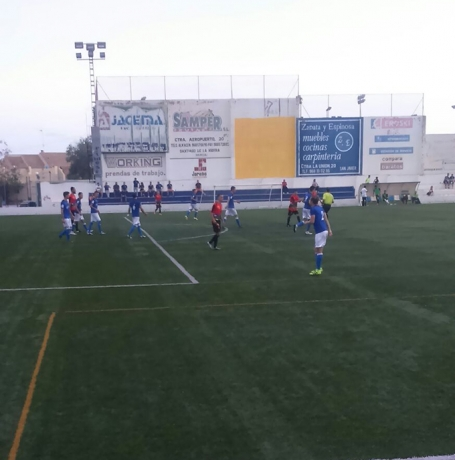 Lance del partido Mar Menor-CD Cieza