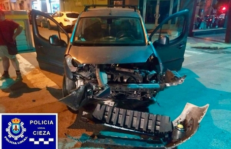 Coche accidentado